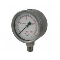 ABAC B741/270 Air Compressor pressure gauge
