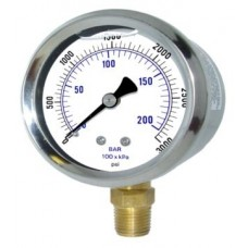 ABAC LT150 Air Compressor pressure gauge
