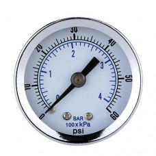 SULLAIR 1050 DWQ Air Compressor Pressure Gauge