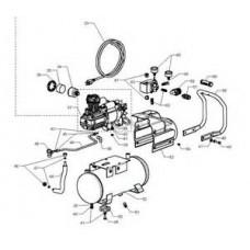 Bostitch CAP2000P-OF Air Compressor parts