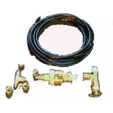 Campbell 1-HP 2-Gallon Twin Stack Air Compressor drain valves