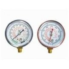 Campbell 1-HP 2-Gallon Twin Stack Air Compressor gauges