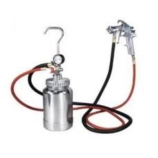 Campbell 1-HP 2-Gallon Twin Stack Air Compressor nozzle