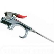 Campbell 1-HP 2-Gallon Twin Stack Air Compressor spray gun
