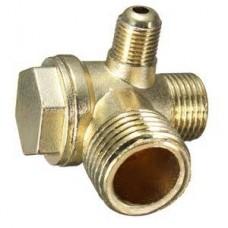 Campbell 15-HP 120-Gallon Rotary Air Compressor check valve