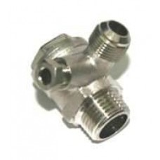 Campbell 15-HP 120-Gallon Rotary Air Compressor drain valves