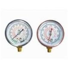 Campbell 15-HP 120-Gallon Rotary Air Compressor gauges