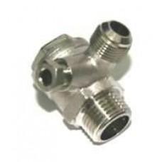 Campbell 3-Gallon Hot Dog Air Compressor drain valves