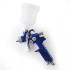 Campbell 4-Gallon Pancake Air Compressor spray gun
