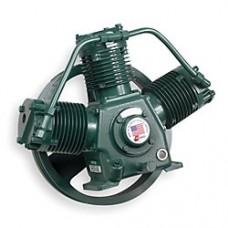 Champion 5 HP 120 Gallon Horzional Duplex Air Compressor pumps