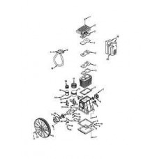 HR10-12 Champion 10 HP 120 Gallon Horizontal Advantage Series Air Compressor parts