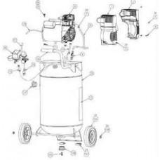 Coleman PMC8230 Air Compressor parts