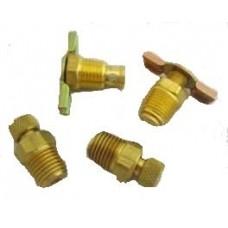 Devilbiss IRFB412/1 Air Compressor drain valves