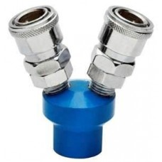 Devilbiss IRFB412/1 Air Compressor hose fittings