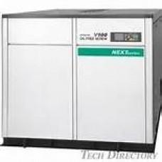 Hitachi DSP-160VWN Oil Free Screw Compressor