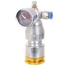 LiuTech LU22-8A Air Compressor pressure gauge