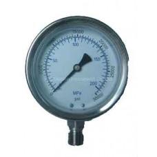 LiuTech LU75-8G Air Compressor pressure gauge
