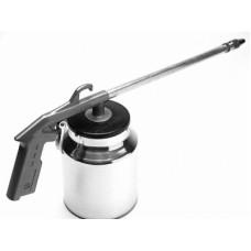 Ridgid 2.5 Gallon Finish Twinstack Air Compressor spray gun