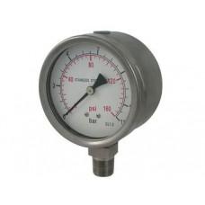 SCR100M Air Compressor pressure gauge
