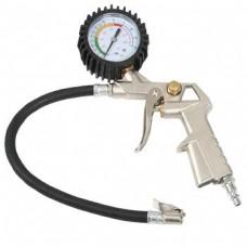 SCR125I Air Compressor pressure gauge