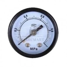 Thomas 1-1/4HP Air Compressor pressure gauge