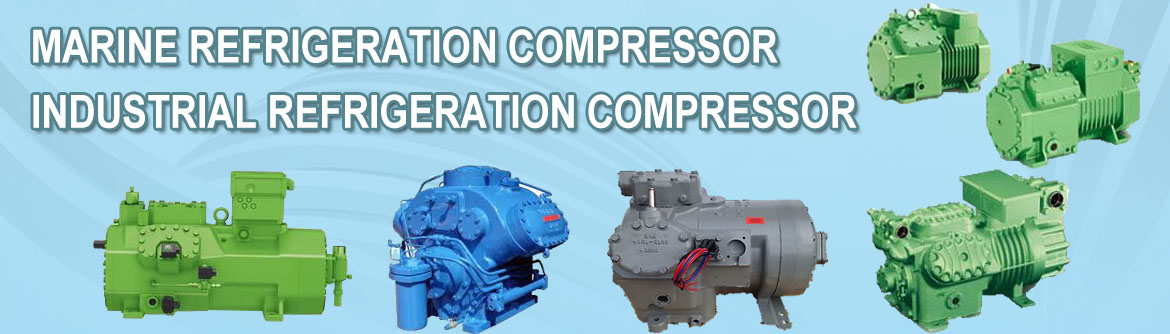 Marine refrigeration & Industrial refrigeration compressor
